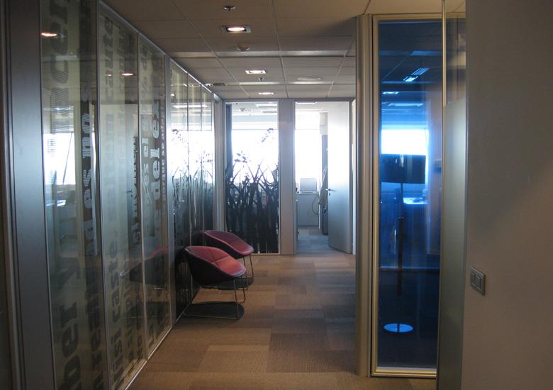 Panorámica del despacho desde su entrada principal.