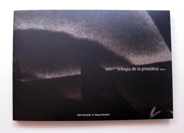 Diseño editorial catálogo exposición trilogia de la privadesa