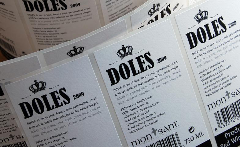 Diseño contra etiqueta  Doles